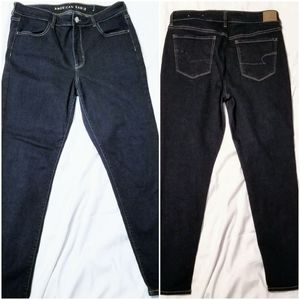 American Eagle Stretch High Rise Jeggings -14